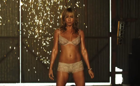 Jennifer Aniston no trailer We're the Millers