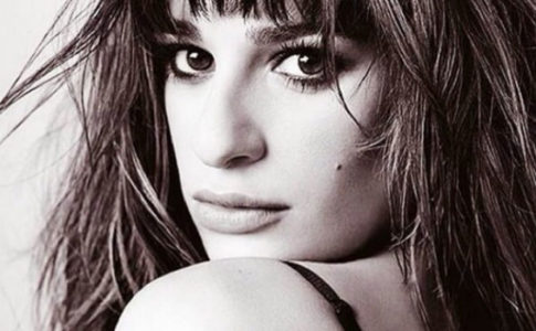 "Lea Michele - Capa do single ""What Is Love?"""