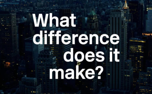 """Imagem promocional do filme """"What difference does it make?"""""""