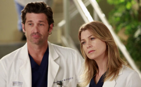 Derek Shepherd e Meredith Grey